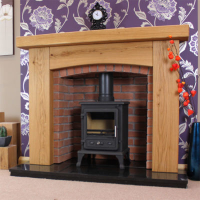 Rustic Oak Beam Fireplaces
