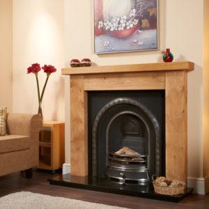 Ashford Oak Fireplace Package