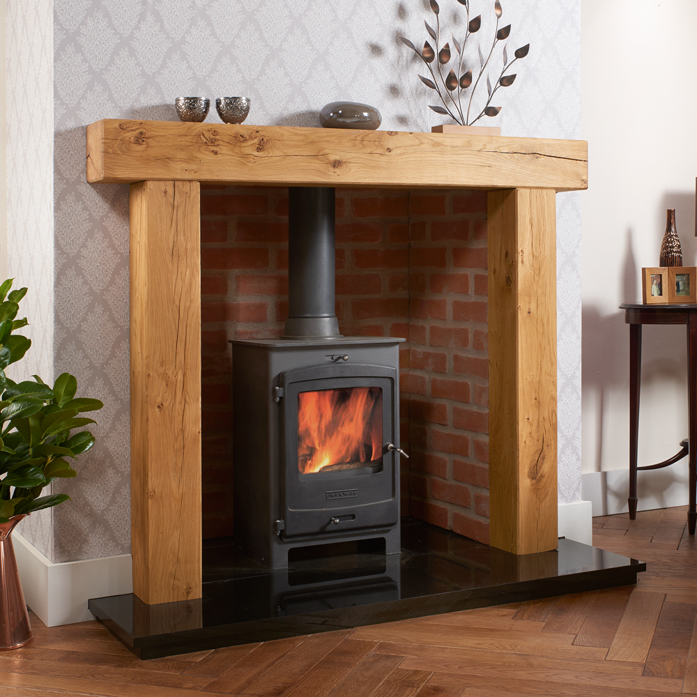 SOLID OAK BEAM FIRE PLACE BEAM Chunky