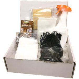 Oak Fireplace Cleaning & Maintanance Kit