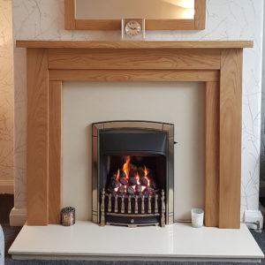 Cheltenham Oak Fireplace Surround