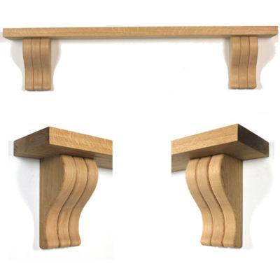 Oak Beams and Mantel Shelves