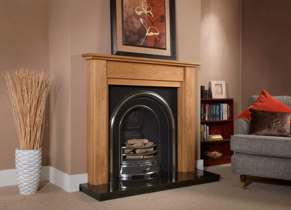Stratford Oak Fireplace Package