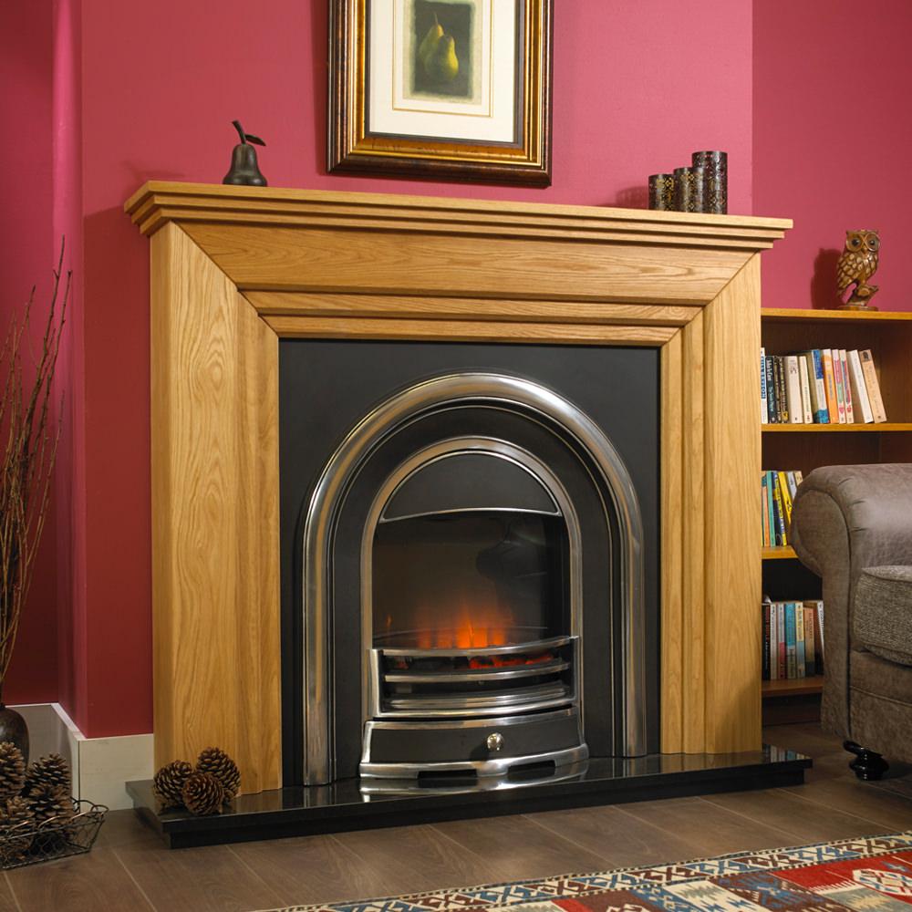 Venice Solid Oak Designer Electric Suite Suitable For