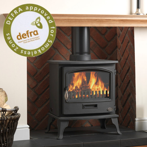 Gallery Tiger Cleanburn Multi Fuel Wood Burning Stove