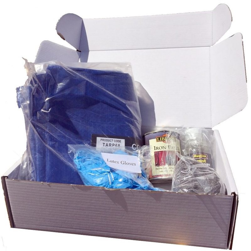 Cast Iron Care & Maintenace Kit