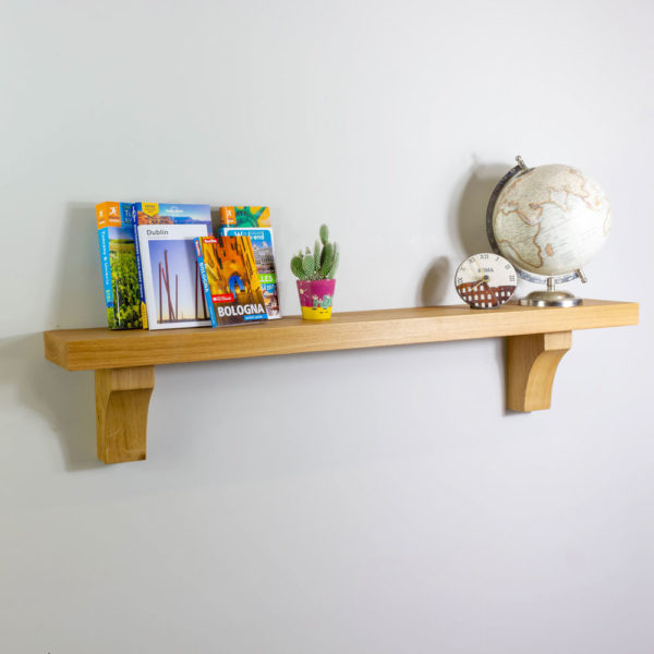 45mm Thick Shelf with Arched Corbels