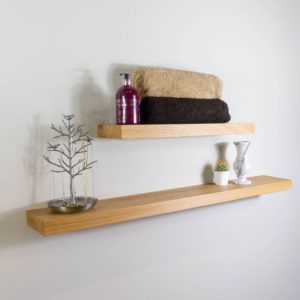 45mm Thick Solid Oak Shelving