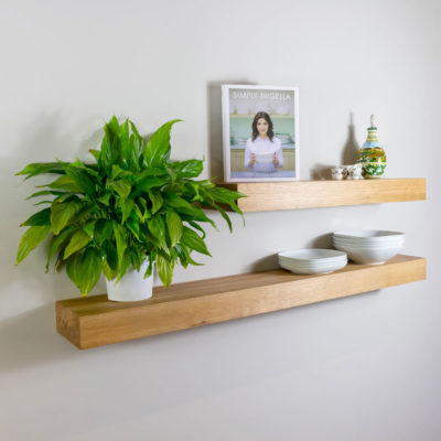 70mm Thick Solid Oak Shelving